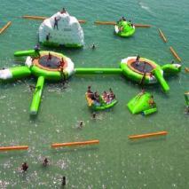 Inflatable aquapark Pearl