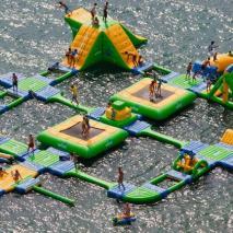 Inflatable aquapark Fiji