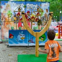 Attraction Angry birds