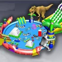Inflatable water complex