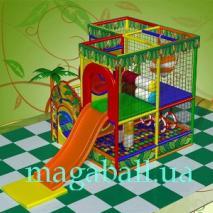Детские лабиринты  до 35 м.кв