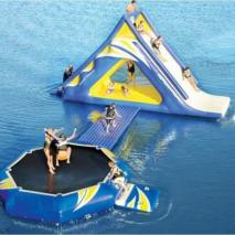 Inflatable aquapark Agios
